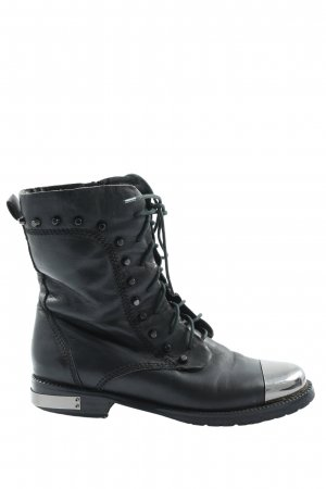 Glossi Desert Boots black-silver-colored casual look