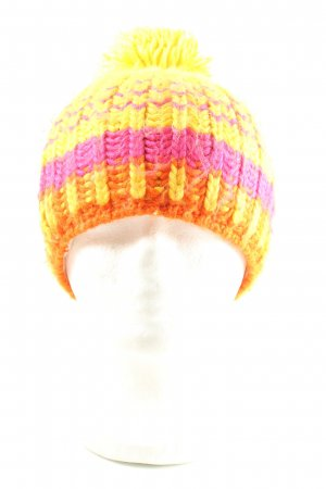 GLS Bobble Hat striped pattern casual look