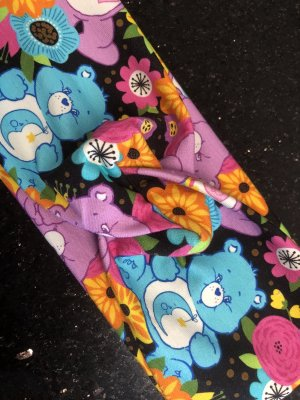 handmade unikat Chapeau de soleil multicolore tissu mixte