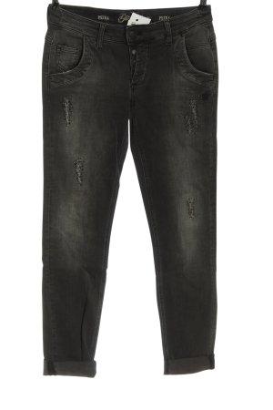 Glücksstern Low Rise Jeans black casual look