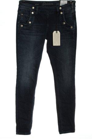 Glücksstern Dopasowane jeansy niebieski W stylu casual