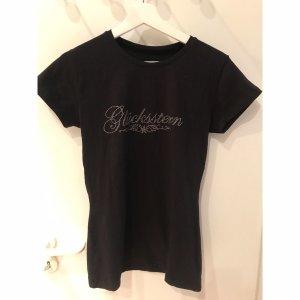 Glücksstern T-Shirt Größe L schwarz