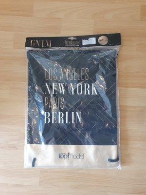 Burlap Bag multicolored