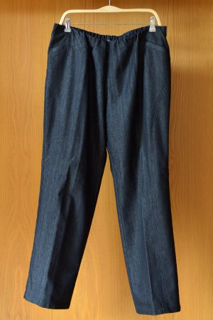 Stretch Jeans black-dark grey cotton