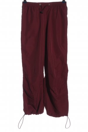 GO IN Stoffhose rot Casual-Look
