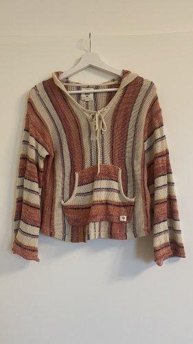 Billabong Pullover a maglia grossa crema-rosso