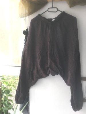 GOA Pantalone bloomers viola scuro