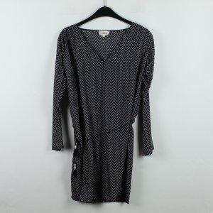 GOA Kleid Gr. S schwarz weiß gemustert (20/01/064)