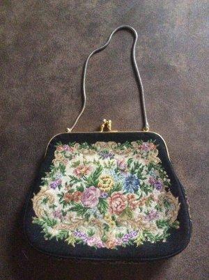 Gobelin Vintage Petit Point Handtasche - Tracht
