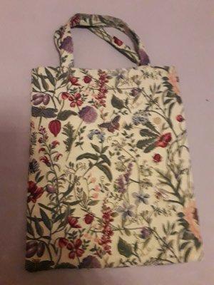 Bolso de tela multicolor tejido mezclado