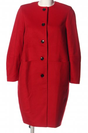 Gobi Floor-Lenght Coat red business style