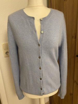 Gobi Kaszmirowy sweter błękitny