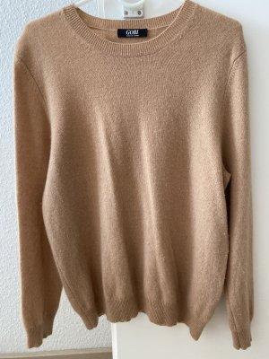 Gobi Pullover in cashmere beige-color carne