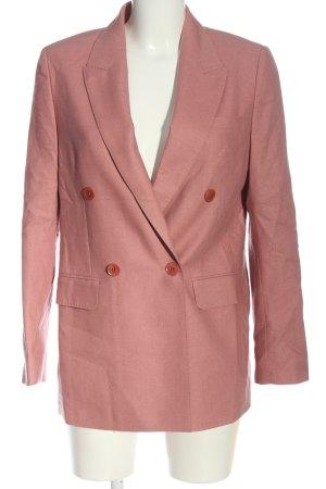 Gobi Klassischer Blazer pink meliert Casual-Look