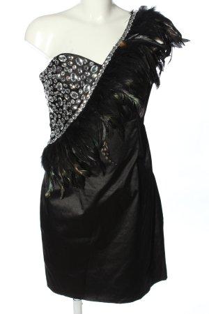 Goddess Cocktailkleid schwarz extravaganter Stil