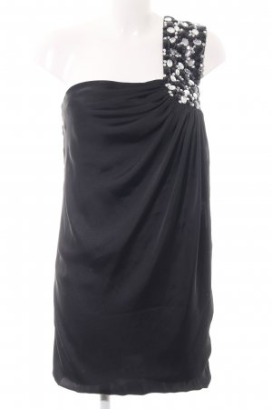 Goddess One-Shoulder-Top schwarz Elegant