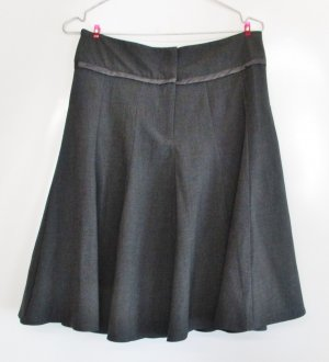 WOMAN Godet Skirt multicolored mixture fibre