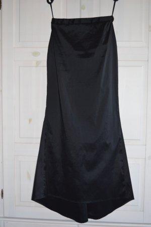 vivian caron Spódnica z godetami czarny Poliester