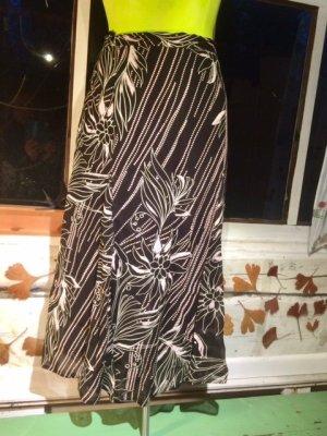 Godet Skirt multicolored viscose