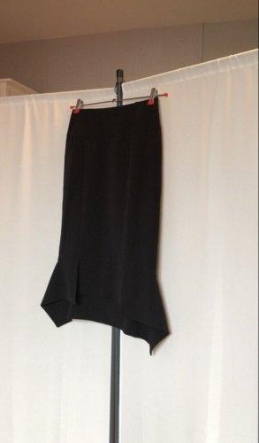 Bon Prix Spódnica z godetami czarny