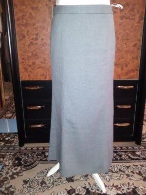 Class Spódnica z godetami czarny-błękitny