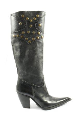 godiva Wide Calf Boots black casual look