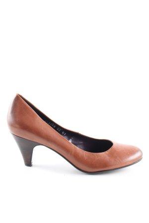 Görtz 17 High Heels braun Casual-Look