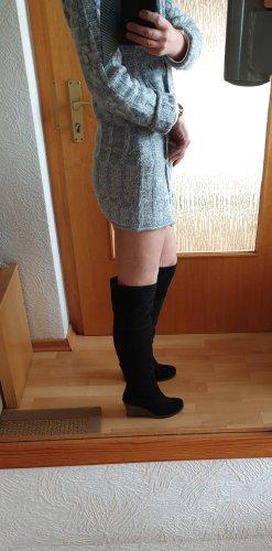 Görtz Shoes Botas sobre la rodilla negro Cuero