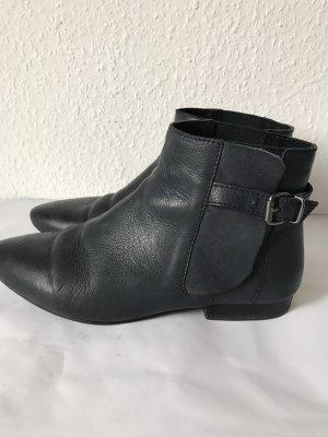 Akira Chelsea Boot bleu foncé cuir