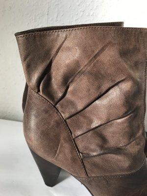 Görtz Shoes Botte courte brun cuir