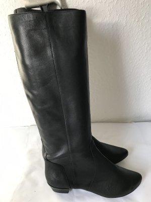 Görtz Shoes Stivale da equitazione nero Pelle