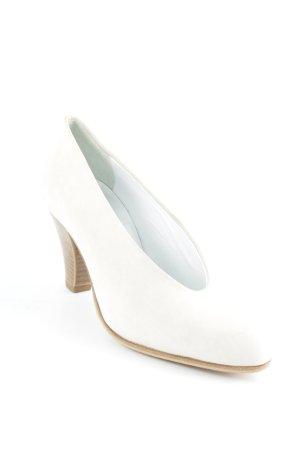 Görtz Shoes Schlüpfschuhe hellbeige-braun Business-Look