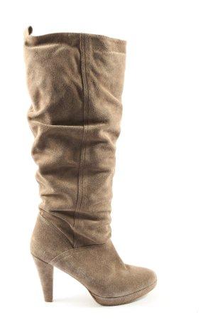 Görtz Shoes Absatz Stiefel khaki Casual-Look