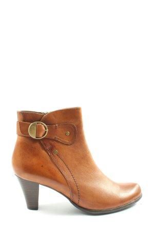 Görtz Shoes Booties hellorange Casual-Look