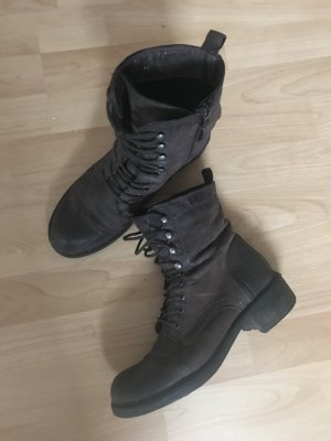 Görtz Shoes Boots braun Rock Chic-Look Casual-Look Biker Look