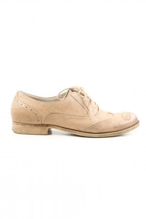 """Görtz Shoes Richelieu """"W-swff8z"""" blanc cassé"""