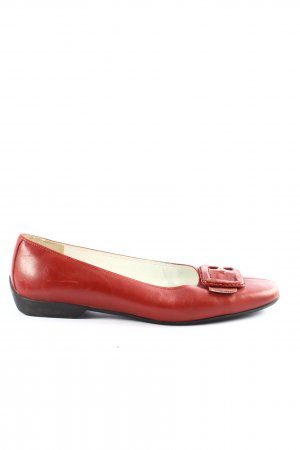 Görtz Shoes Bailarinas plegables rojo estilo «business»