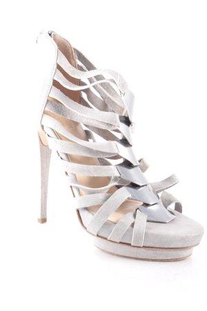 Görtz Shoes High Heel Sandaletten hellgrau Elegant