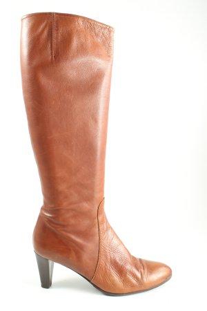 Görtz Shoes High Heel Stiefel hellorange Casual-Look