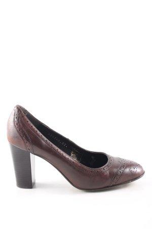 Görtz Shoes High Heels braun Casual-Look