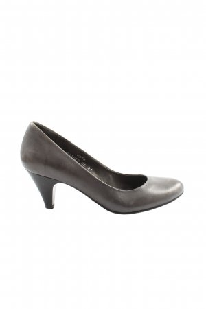 Görtz Shoes Hochfront-Pumps hellgrau Casual-Look