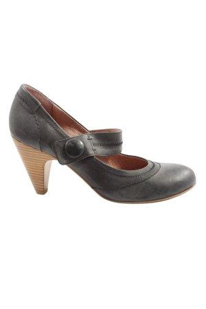 Görtz Shoes Escarpins Mary Jane gris clair style décontracté