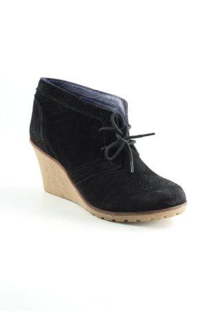 Görtz Shoes Keil-Stiefeletten schwarz Casual-Look
