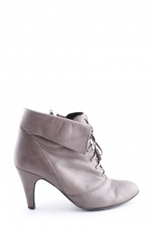Görtz Shoes Kurzstiefel hellgrau Business-Look
