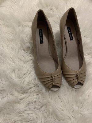 Görtz Shoes Peep Toe Pumps room-beige