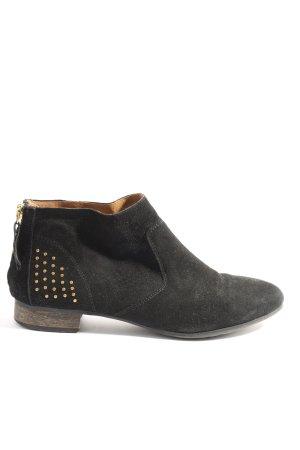 Görtz Shoes Reißverschluss-Stiefeletten schwarz Casual-Look
