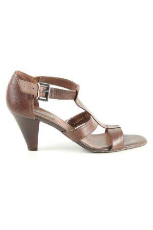 Görtz Shoes Riemchen-Sandaletten braun Casual-Look