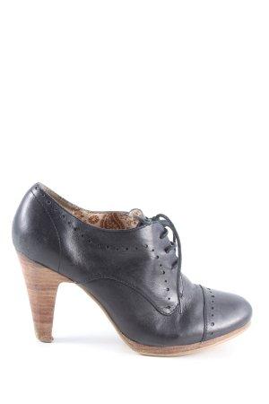 Görtz Shoes Schnür-Stiefeletten blau Casual-Look