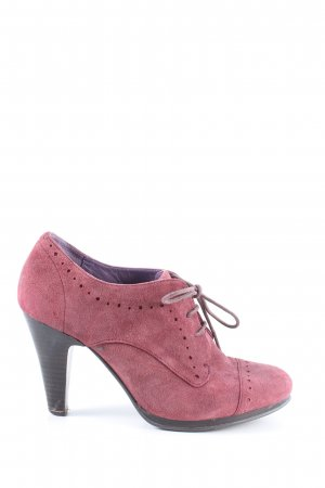 Görtz Shoes Schnür-Stiefeletten pink Business-Look