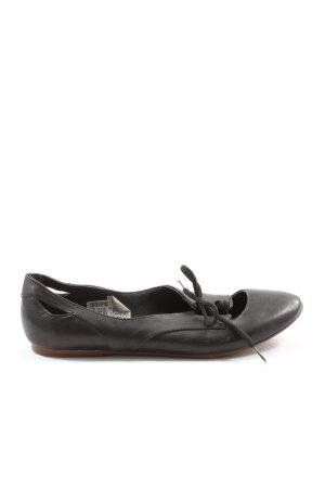 Görtz Shoes Sznurowane buty czarny W stylu casual